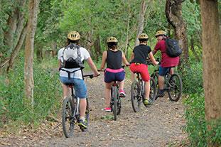 menjangan cycling activity