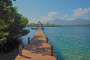 concept the menjangan jetty
